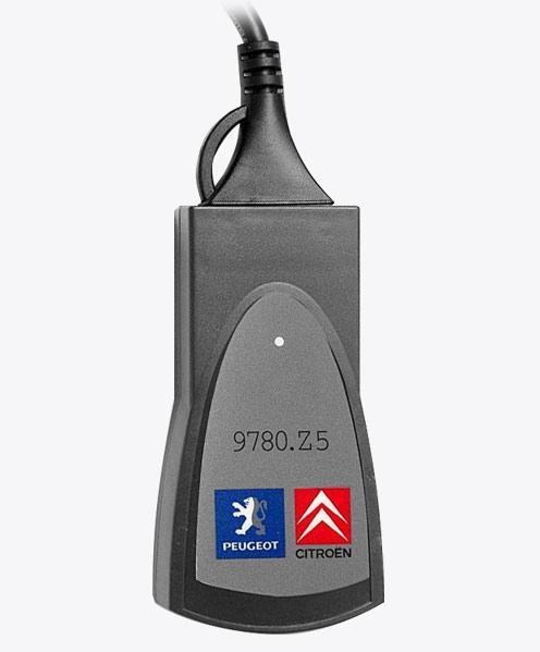 Автосканер Citroen Lexia + Peugeot Planet